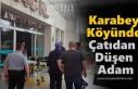 Tosya'da Çatıdan Düşen Adam Yaralandı