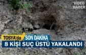 Tosya'da Define Avcısı 8 kişi Yakalandı