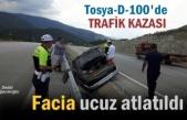 Tosya D-100 karayolunda faciadan dönüldü