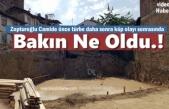 Tosya Zopturoğlu Cami İnşaat Hafriyatı sonrası Yan Bina Yıkıldı