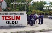 Tosya'da 2 kişiyi Öldüren Cinayet Zanlısı Teslim Oldu