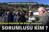 Tosya'da 8 Evin yandığı Köyde Yaşanan Dram