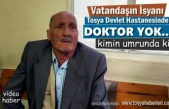 Tosya Devlet Hastanesinde Vatandaşın İsyanı