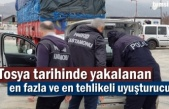 Tosya'da 'Metamfetamin' isimli uyuşturucu yakalandı