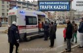 Tosya Kaymakamlık Kavşağında Trafik Kazası 1 Yaralı