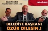 Saadet Partisi Tosya Belediye Başkanı Aday Tanıtımı