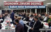 Tosya'da Ekonomik Zirve Toplantısı Yapıldı