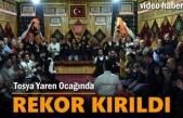 Tosya Yaren Meclisinde Rekor Kırıldı