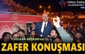 TOSYA BELEDİYE BAŞKANI VOLKAN KAVAKLIGİL ZAFER KONUŞMASI