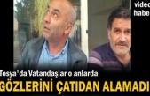 Tosya'da Vatandaşlar Gözlerini Çatıdan Alamadı