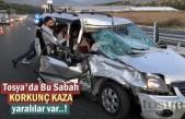 Tosya'da Sabah Saatlerinde Feci Trafik Kazası