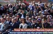 Cumhuriyet Bayramının 96.Yıldönümü Tosya'da Çoşku içinde Kutlandı
