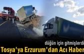 Erzurum'da Meydana Gelen Trafik Kazasında İki Tosyalı Hayatını Kaybetti