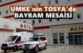 Ambulanslı UMKE'den Tosya'da Ramazan Bayramı Mesaisi