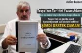 Tosya Tarihi Kitabı Yazarı Mustafa Bektaşoğlu '' Yapılan Büyük Haksızlık''