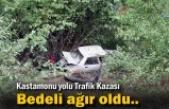 Tosya-Kastamonu Yolunda Trafik Kazası
