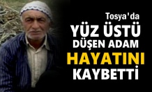Tosya'da Yüz Üstü Düşen Yaşlı Adam Hayatını Kaybetti