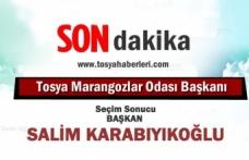 Tosya Marangozlar Odası Seçimin Salim Karabıyıkoğlu Kazandı