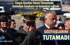 Tosya'da Gaziler gününde Belediye Başkanı ve Komutanın gözyaşları damga vurdu
