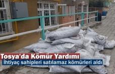 Tosya'da Para İle Satılamaz Kömürler İhtiyaç sahiplerine verildi