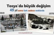 Tosya Hükümet Konağının 50 Yıl Öncesi ve Sonrası