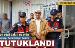 Çaykapı Köyü Cinayet Zanlısı Tutuklandı