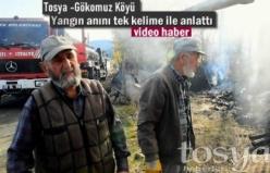 Tosya Gökomuz Köyü Yangın Sonrası