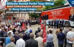 Milliyetçi Hareket Partisi ilçemizde düzenlediği açık hava mitinginde milletvekili adaylarını tanıttı