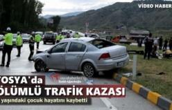 Tosya'da Trafik Kazası 1 Ölü 5 Yaralı