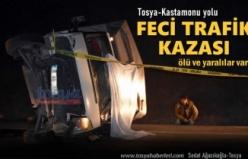 Tosya-Kastamonu Yolu Ölümlü Trafik Kazası