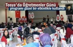 Tosya'da 24 Kasım Öğretmenler Günü