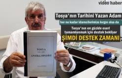 Tosya Tarihi Kitabı Yazarı Mustafa Bektaşoğlu
