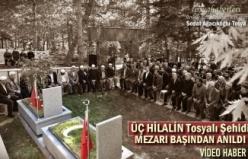 Ülkücü Şehit Yaşar Özcivlez Mezarı Başında Anıldı
