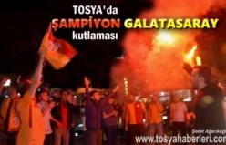 Tosya'da 2017-2018 Sezonu Şampiyon Galatasaray'ın kutlamalar