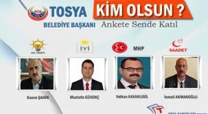Tosya Belediye Başkanı Kim Olsun ?