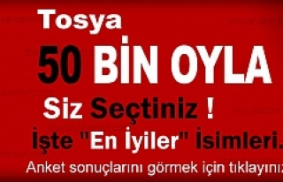 2015 YILI '' TOSYA ENLERİ ''...