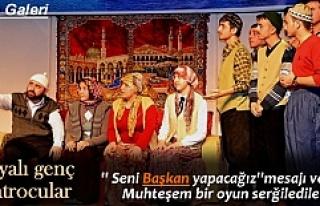 ''BAŞKAN'' İSİMLİ TİYATRO...