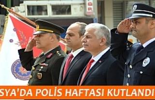 TOSYA'DA POLİS HAFTASI KUTLAMALARI YAPILDI