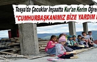 TOSYA'DA ÇOCUKLAR KUR'AN KERİM ÖĞRENMEK...