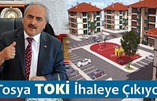 TOSYA TOKİ KONUTLARI İHALEYE ÇIKIYOR