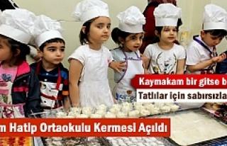 Tosya Mehmet Akif Ersoy İmam Hatip Ortaokulu yararına...