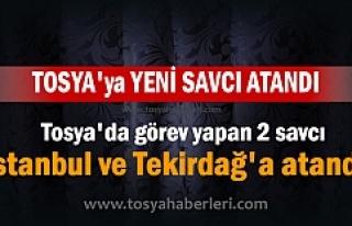 TOSYA'YA YENİ SAVCI ATANDI