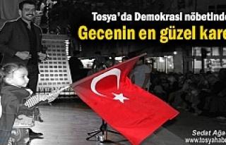 Tosya Demokrasi Nöbeti 11.Gecede Abdullah Civliz...