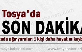 TOSYA-KASTAMONU KARAYOLUNDAKİ KAZADA SON DAKİKA...