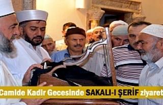Tosya'da Kadir Gecesinde Sakalı-ı Şerif Ziyaretine...