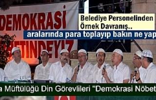 Tosya'daki Demokrasi Nöbetinde Mevlid-i Şerif...