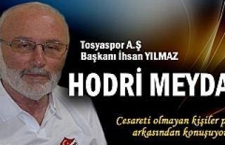 İHSAN YILMAZ ''CESARETİ OLMAYIP PERDE...
