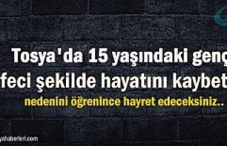 TOSYA'DA OTOBÜSÜN ALTINDA KALAN 15 YAŞINDAKİ...