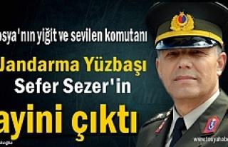 Tosya Jandarma ve Garnizon Komutanı Sefer Sezer'in...