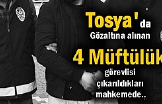 Tosya Müftülüğünde görevli 1 Kişi Tutuklandı